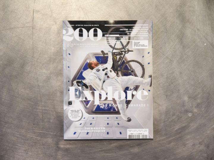 Le Distance 45 en apesanteur dans 200 magazine